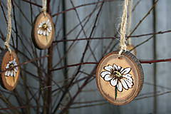 Dekorácie - drevená závesná dekorácia13 - 9116155_