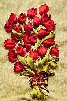 Obrazy - Kytica tulipánov - 9119000_