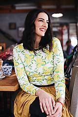 Tričká - Elegantné tričko Lemon Drop - 9117739_