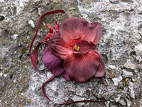 Náramky - náramek s orchidejí - 9119308_