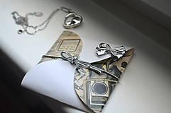 Papiernictvo - Thinbox obálka na maličký darček - 9117016_