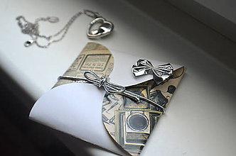 Papier - Thinbox obálka na maličký darček - 9117016_