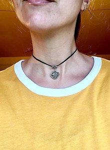 Náhrdelníky - Oldschool 90's trendy Choker - 9116996_