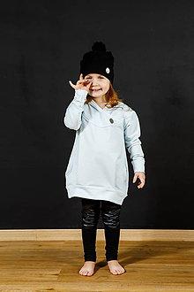 Detské oblečenie - Mikina LULU (Lulu bledomodrá) - 9116224_