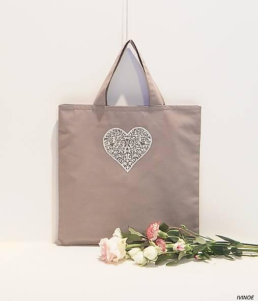 Nákupná taška - malá 30 x 30 cm