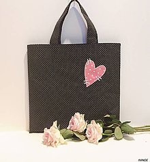 Nákupné tašky - Ekotaška - malá 30 x 30 cm - 9117605_