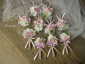 Pierka - svadobné pierko..nežné - 9119751_