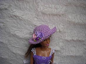 Hračky - klobúčik pre bábiku Barbie - 9122621_