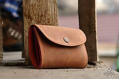 - Kožená peňaženka VIII. aj na veľké doklady - 9123750_