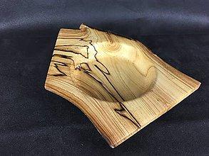 Nádoby - Drevená miska - Jabloňové drevo - 9123980_
