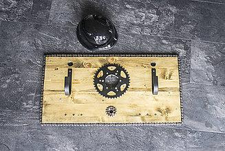 Iné - MOTO držiak na prilby vol 6 Chopper art - 9121715_