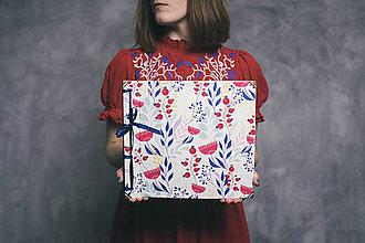 Papiernictvo - Fotoalbum klasický, polyetylénový obal s potlačou ,,S folkovým nádychom,, - 9120531_