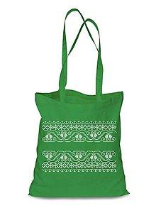 Nákupné tašky - Plátená Ekologická nákupná taška 016 (Zelená) - 9122850_