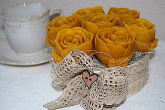Dekorácie - Kytica ruží - 9123850_