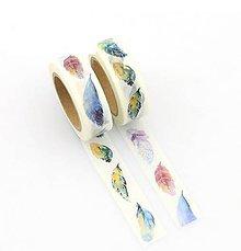 Papier - pierka, washi - kreativne, dekoračné, ozdobné, papierové lepiace pásky - 9123584_