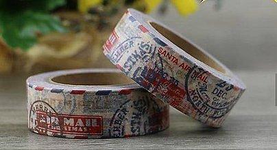 Papier - pečiatka, známka ,washi - kreativne, dekoračné, ozdobné,  papierové lepiace pásky - 9123619_