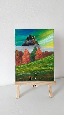 Obrazy - Zlatá hora - 9123667_