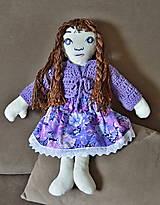 Hračky - šitá bábika na hranie - 9121392_