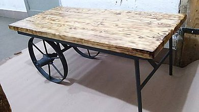Nábytok - Stol na zelanie Industrial - 9121687_