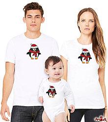 Iné oblečenie - Mama, ocko a ja - Penguin (rodinné oblečenie) - 9121153_