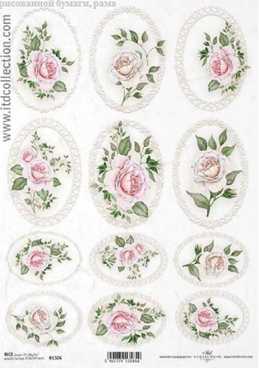 Ryžový papier ITD 1326