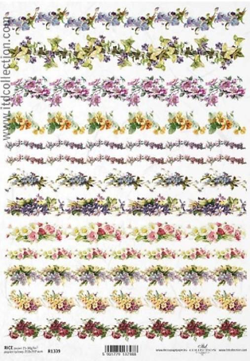 Ryžový papier ITD 1339