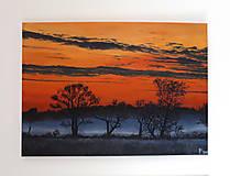 Obrazy - Obraz - Les, západ slnka na safari - 9128072_