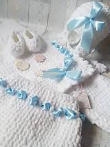 Detské súpravy - Biely Set (nielen) ku krstu - 9127754_