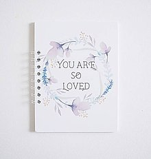 Papiernictvo - Zápisník A5 Flower Dreams - 9125173_