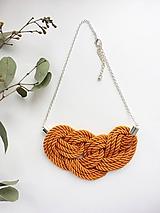 Náhrdelníky - Oranžový - 9129304_