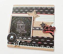 Papiernictvo - pohľadnica k narodeninám - 9124405_