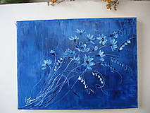 Obrazy - Modrý sen - 9124636_