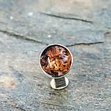 Prstene - Strieborný prsteň - V hĺbke - 9128567_