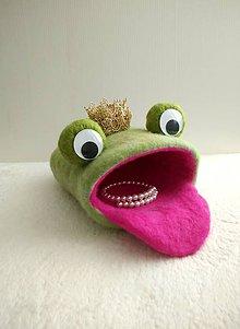 Hračky - Žabí princ úložný priestor pre deti - 9125217_