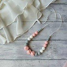 """Náhrdelníky - Silikónový dojčiaci náhrdelník """"Laura"""" - 9126855_"""