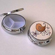 Krabičky - Ptačí písnička - lékovka - 9127536_