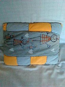 Úžitkový textil - Vankúš :-) - 9124386_