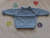 Detské oblečenie - Chlapčenský pulovrík - 9124842_