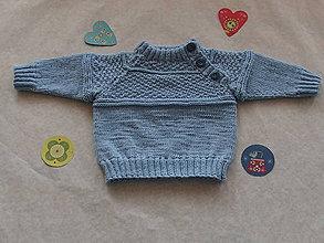 Detské oblečenie - Chlapčenský (detský) pulovrík - 9124842_