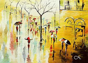 Obrazy - Slnečný dážď - 9124351_
