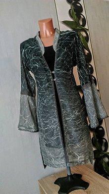 Kabáty - Dlhý ľahučký kabátik - 9126619_