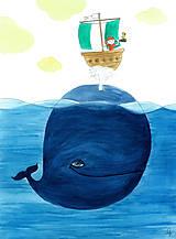 Obrázky - Pirát a veľryba, obrázok - 9124675_