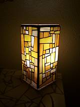 - Bárter :) Mozaiková lampa...Západ slnka - 9131668_