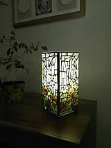Mozaiková lampa...Jarná lúka