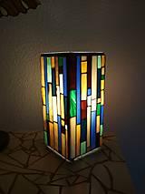 Svietidlá a sviečky - Mozaiková lampa...Farby Zeme (ihneď k odberu :) - 9131998_