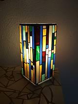 Svietidlá a sviečky - Mozaiková lampa...Farby Zeme (ihneď k odberu :) - 9132000_