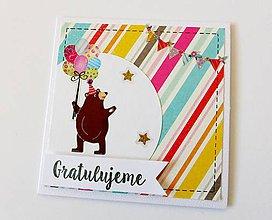 Papiernictvo - pohľadnica k narodeninám - 9129685_