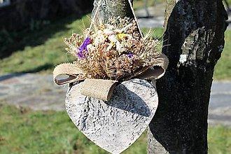 Dekorácie - Dekorácia zo sušených kvetov - 9130678_