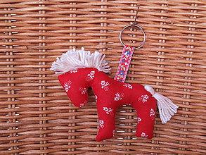 Kľúčenky - Darček k nákupu nad 25 € - kľúčenka koník - 9130481_