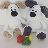 Hračky - Háčkovaný psík Elvis / Crochet dog Elvis - 9130268_
